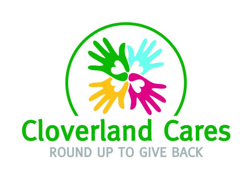 Cloverland Cares logo